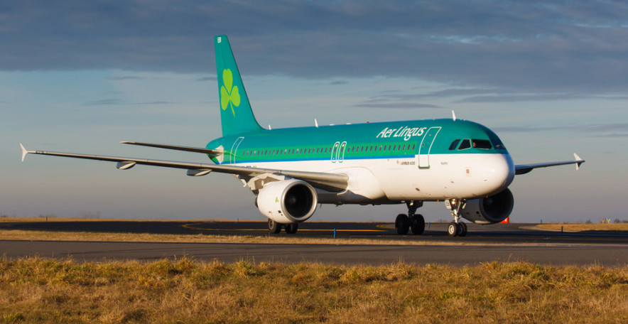 Aer Lingus wins the international favorite award. Photo courtesy of Shutterstock.
