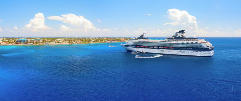 Redeem miles from the Capital One VentureOne Rewards Credit Card toward travel expenses such as cruises. Image courtesy of Shutterstock.
