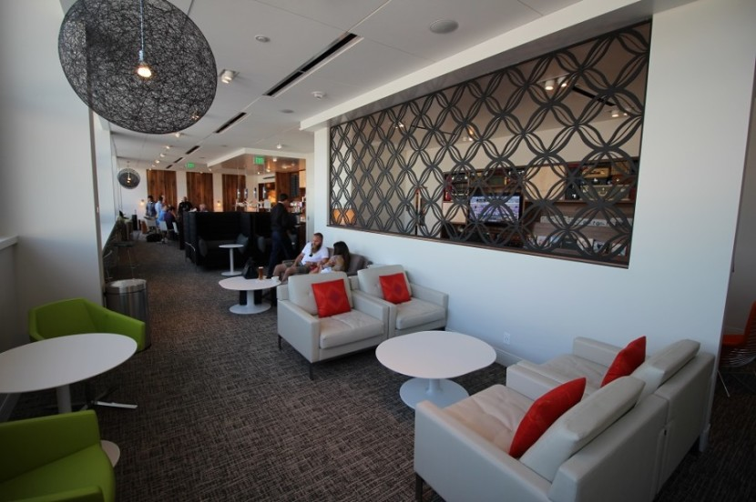 Amex's Centurion Lounges have changed the whole domestic airport lounge scene.