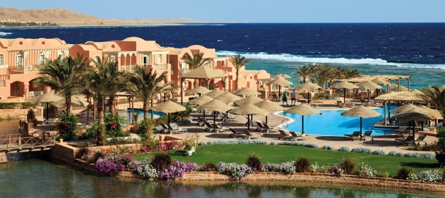 The gorgeous Radisson Blu Resort in El Quseir, Egypt.