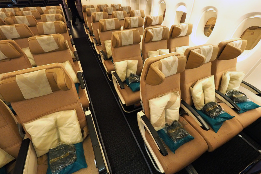 a complete tour of etihads a380 first business and economy