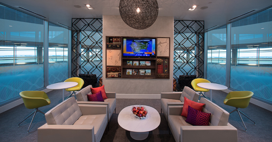The Business Platinum Card from American Express includes access to all the new US Centurion Lounges.