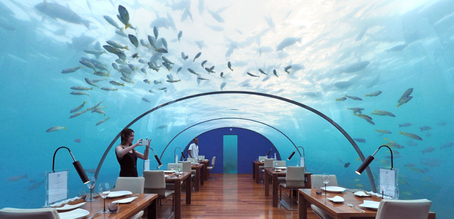 Ithaa Underwater Restaurant Featured
