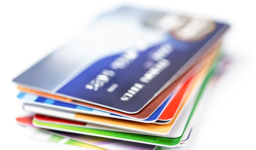 Getting five to ten cards at a steady rate isn't a bad idea. Start with a Chase Ultimate Rewards card. Photo courtesy of Shutterstock.