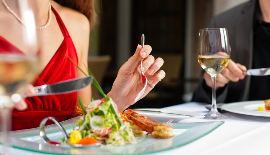 I use my Chase Sapphire Preferred for all dining and earn 2X and on the first Friday of each month, 3X. Photo courtesy of Shutterstock.
