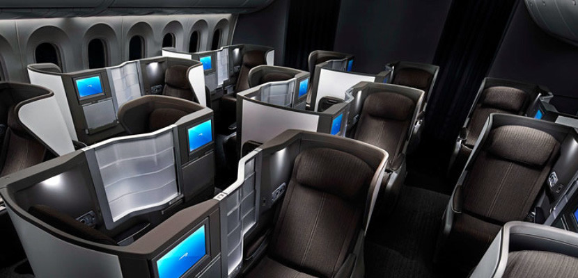 BA's business seats face each other — perfect for couples traveling together. Photo courtesy of British Airways.