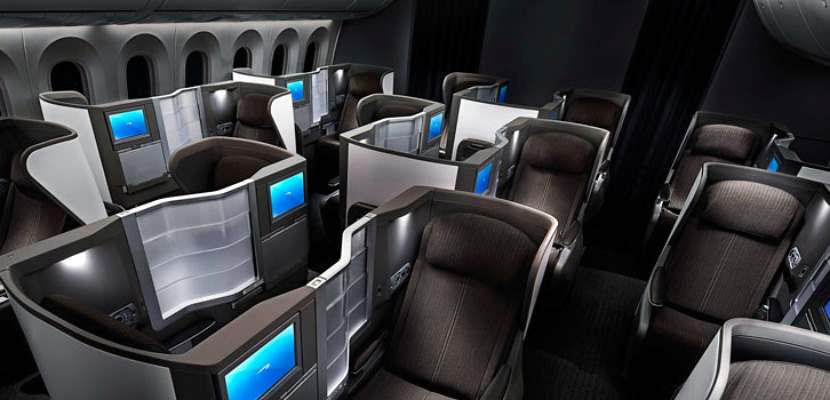British Airways 787 Business Featured