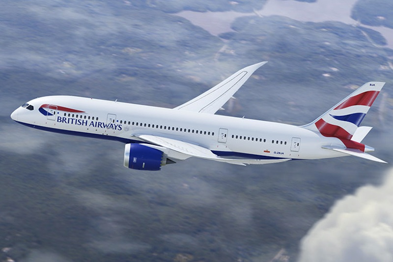 British Airways is now flying the 787-9 on this route, but the Club World experience will likely be similar.