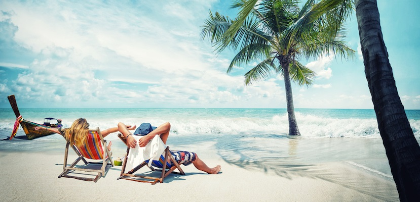 Beach ocean lounging featured shutterstock 256333633