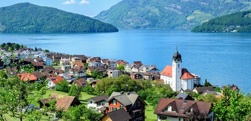 Switzerland Ruetli Lucerne Lake Europe featured 2 shutterstock 194080385