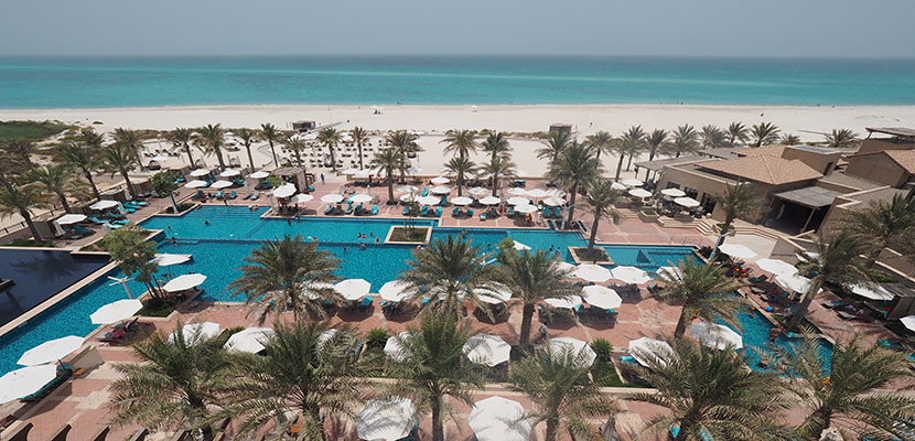 Use the Starwood Preferred Guest Credit Card to pay for stays at international properties like the St. Regis Saadiyat Island without incurring foreign transaction fees.