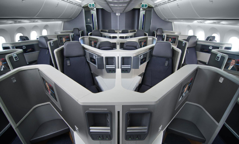 Mileage requirements jump significantly for AA's premium cabins.