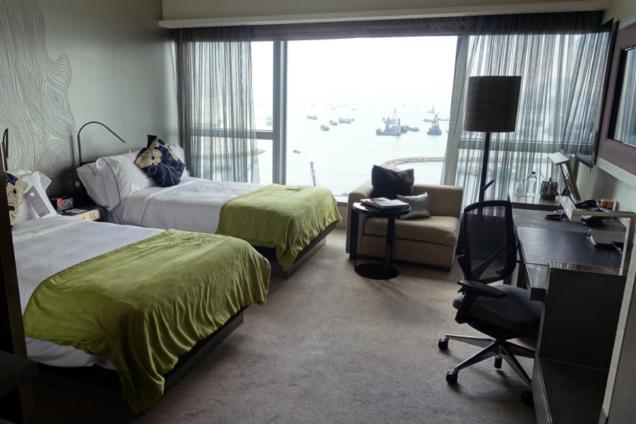 Hotel Review W Hong Kong Wonderful Room And Fantastic Suite