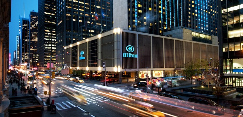 Hilton New York Midtown exterior featured
