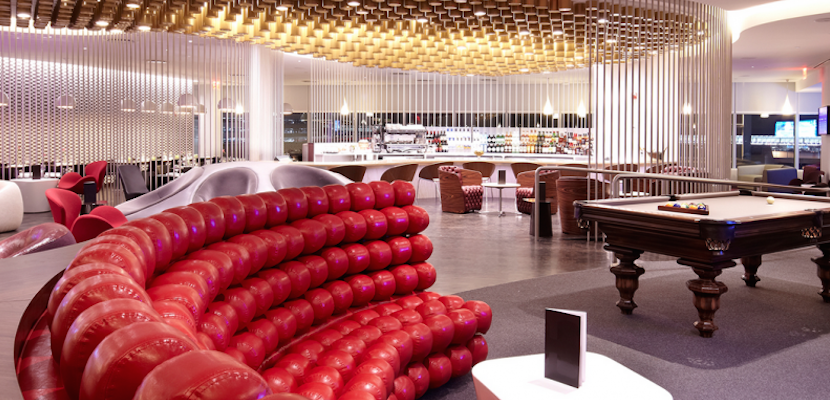 Virgin Atlantic's Clubhouse makes the top of our list.