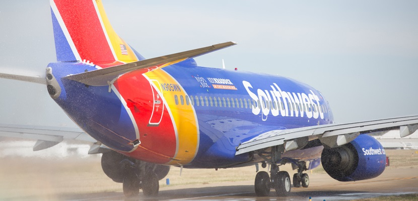 Southwest Airlines teams up with the Kidd Kraddick foundation to fly chronically and terminally ill children and their families to Disney World for an all-expenses paid vacation. The annual Kidd's Kids event was started by Kidd Kraddick who passed away in 2013. / Stephen M. Keller, 2014