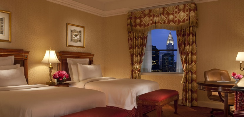 Waldorf Astoria New York room featured