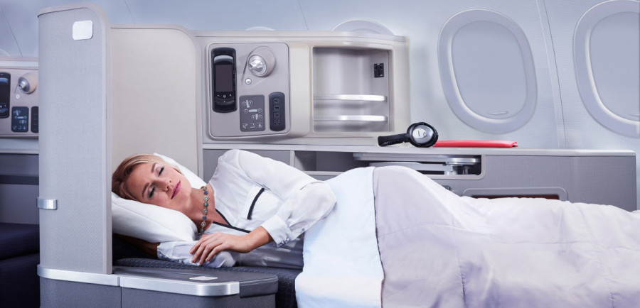 American Airlines A321T First Class