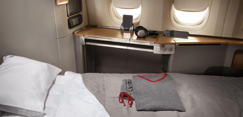 You'll be able to use your Executive Platinum upgrades to move up to first class.