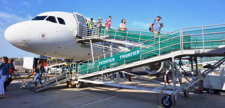 Frontier Airlines Featured