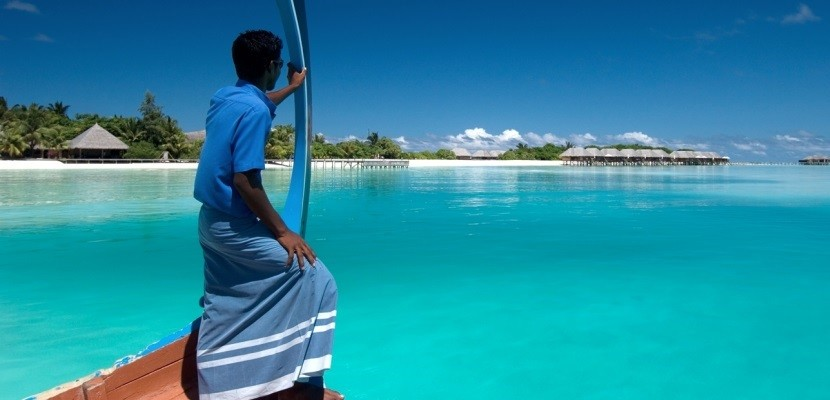 Get tremendous value from your free nights by redeeming them for a stay at a property like the Conrad Maldives.