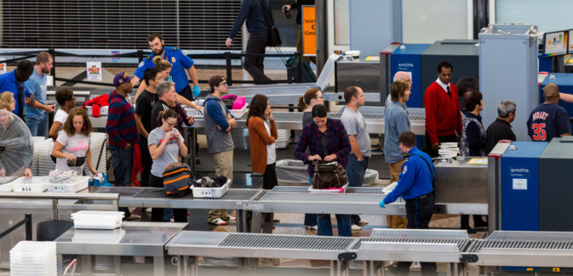 TSA security line shutterstock_227861863