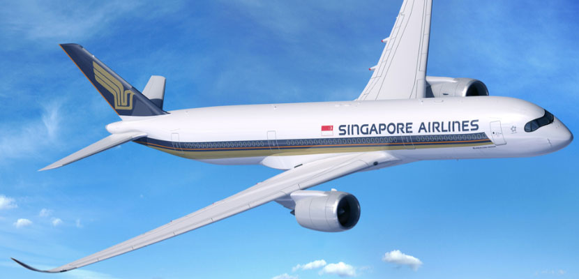 Singapore A350 Featured