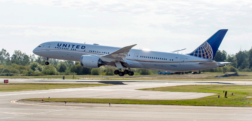 United's Dreamliners offer all front-facing BusinessFirst seats.