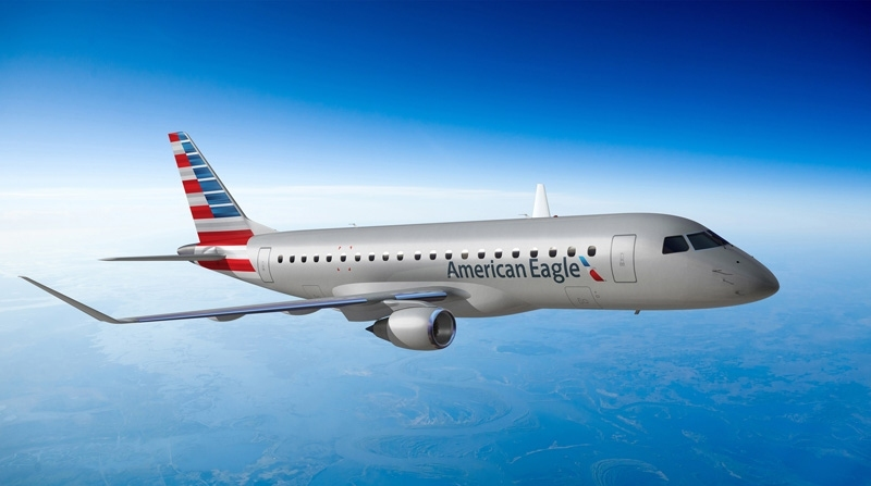Fly short hops on American Eagle for 5,00 less miles than before.