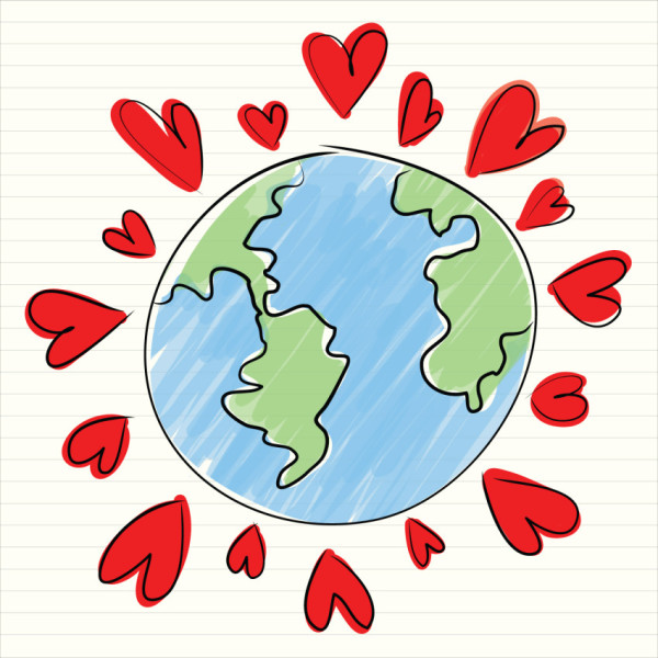 You can find romance wherever you go in the world. - Image courtesy of Shutterstock.