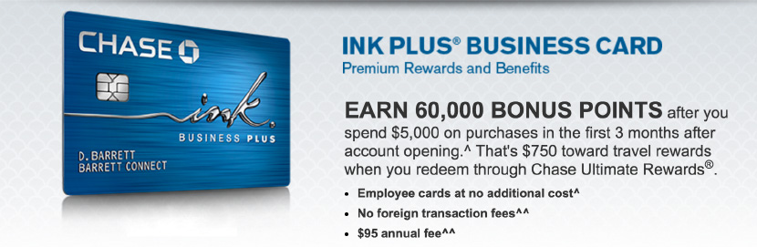 Chase Ink Plus offer