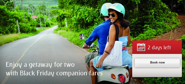 Emirates is running another companion fare sale.