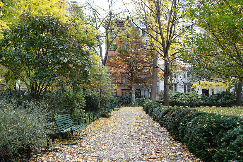 Hotel guests can access exclusive Gramercy Park.