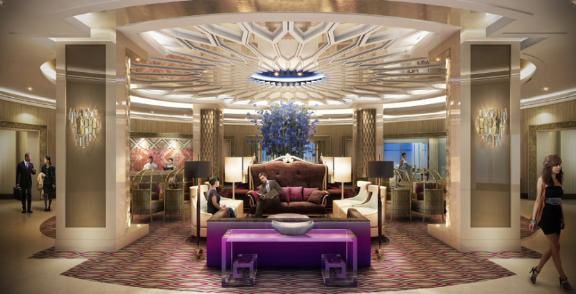 Graceland is getting a massive new hotel! Image courtesy of the Graceland Hotel.