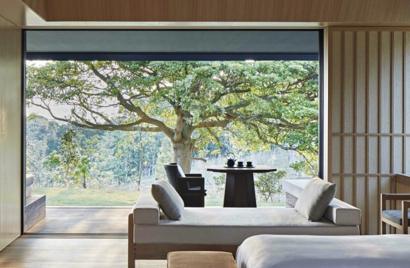 Aman is opening up a new rural resort in a Japanese national park. Photo courtesy of Aman Resorts.