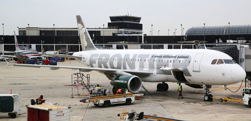 Frontier started new flights to Florida.