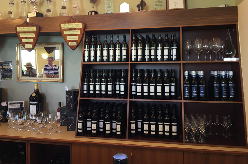 Gapsted's cellar door has some of the most helpful staff around.