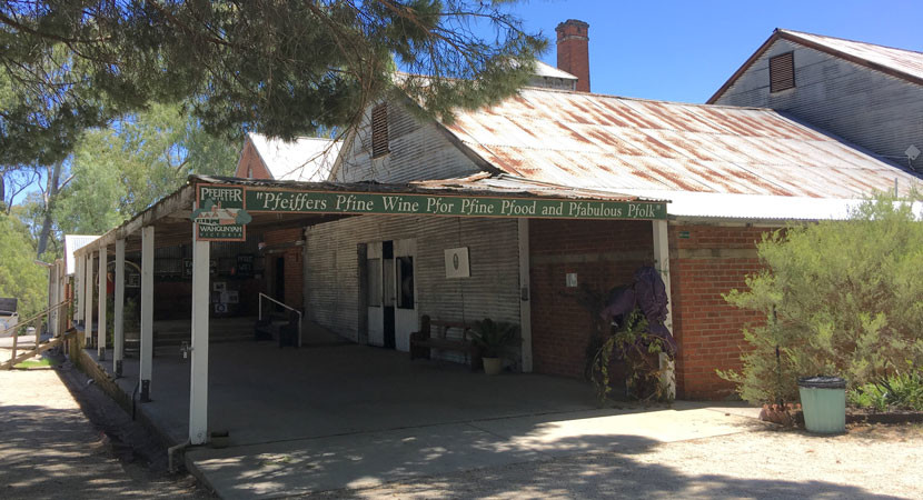 Pfreaking pfuns aside, Pfeiffer's is one of the most historic cellar doors you'll see.