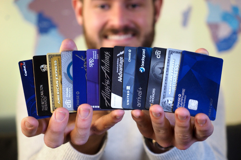 brian credit cards color