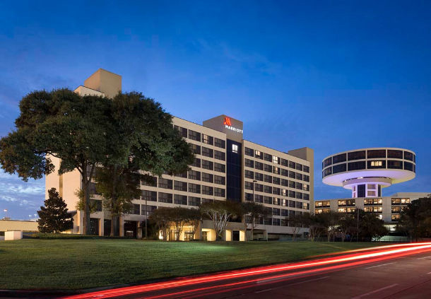The Houston Airport Marriott at George Bush International.