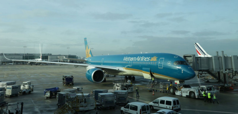 Vietnam Airlines flies the jet from Hanoi to Paris and Incheon.
