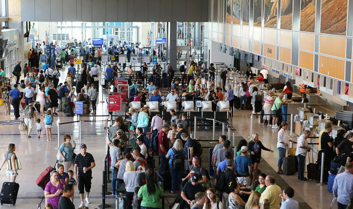 Austin's lone airport, while small, boasts three security checkpoints that accept TSA Pre-Check for a quick experience. Photo courtesy of ABIA.