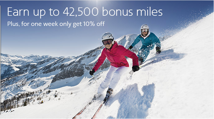 Use this buy miles promotion to hit the slopes — whether it's in Colorado or the Alps!
