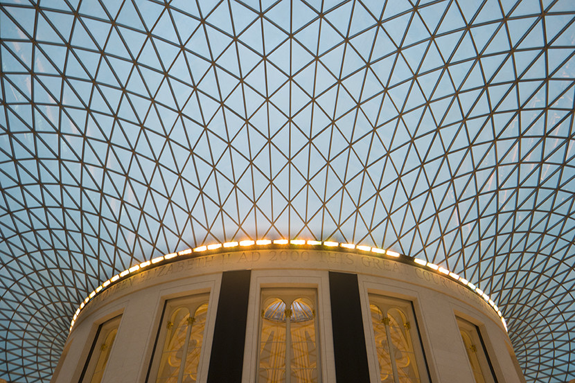 The breathtaking rotunda of the British Museum. Image courtesy of Kofi Lee-Berman.