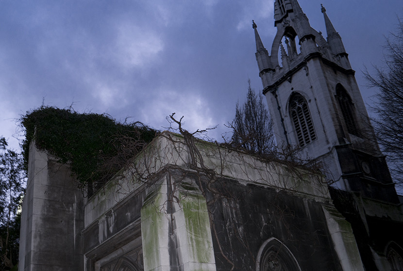 St. Dunstan-in-the-East. Image courtesy of Kofi Lee-Berman.