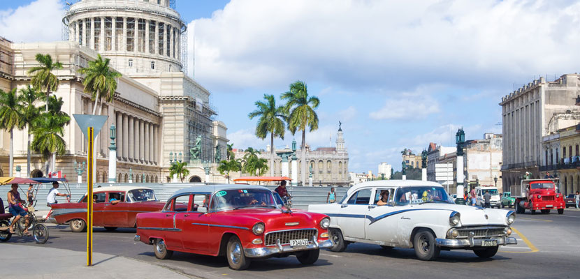 Cuba restrictions continue to ease.