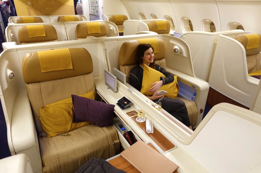 Thai's A380 first class is a great option for awards.