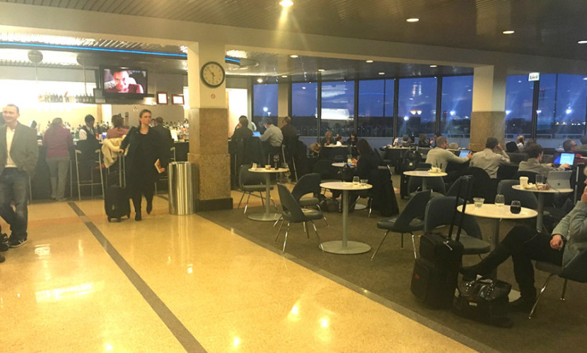 The Admirals Club at ORD at Concourse H.