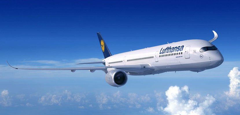 Lufthansa will begin flying the A350 to Boston. Image courtesy of Airbus.