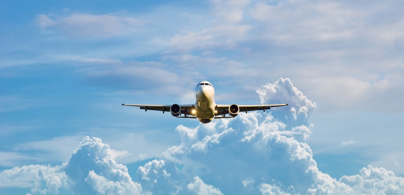 Plane in air from front featured shutterstock 193234670